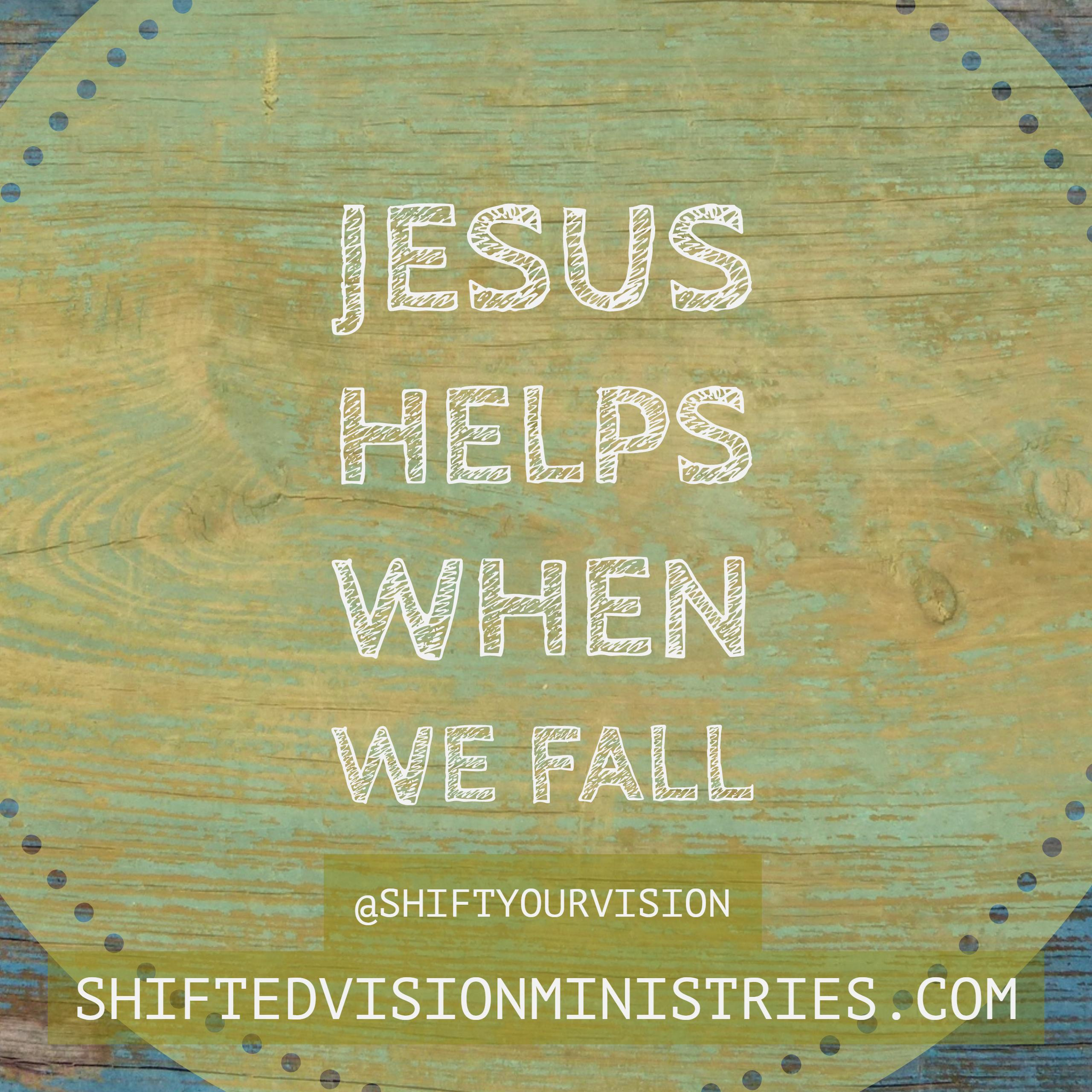 Jesus Helps When Circumstances Overtake Us